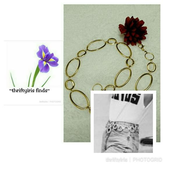 Unbranded Accessories - 80's Vintage Gold Chainlink Belt
